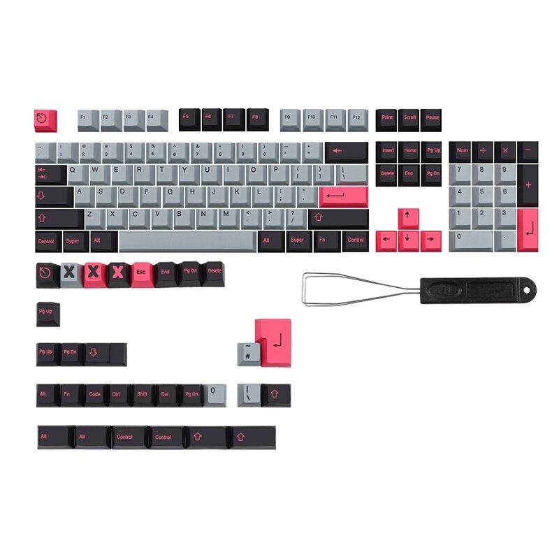 134 مفاتيح/مجموعة 8008 Keycap Cherry الشخصي Pbt أغطية مفاتيح لمفاتيح MX Dz60 Gk61 64 Sk61 75 80 980 صبغ غطاء مفتاح التسامي