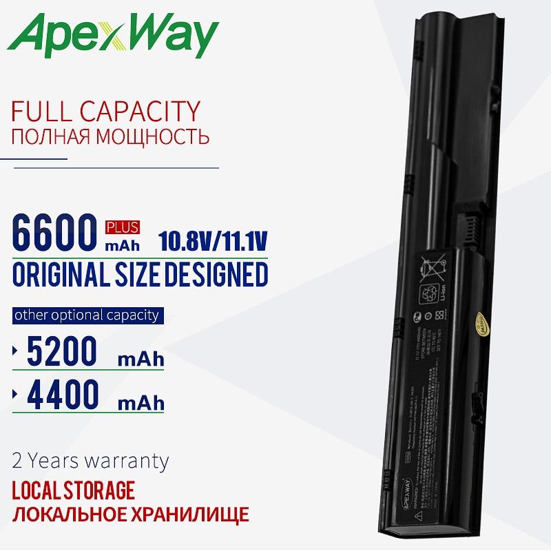 11,1 V batería portátil para HP Probook 4530S 4535s 4330s 4430s 4431s 4331s 4435s 4436s 4440s 4441s 4540s PR06 PR09 HSTNN-I02C