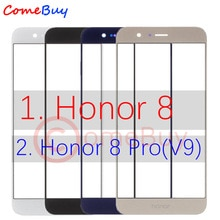 Für Huawei Honor 8 Front Outer Glas Objektiv Touch Screen Panel Für Huawei Ehre 8 Pro Front Glas Objektiv FRD l19 L09 L14 DUK AL20