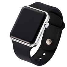 Men Sport Casual LED Watches Mens Digital Clock Man Military Silicone Wrist Watch Clock Army Hodinky Ceasuri Relogio Masculino
