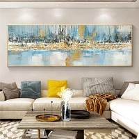 modern abstract hand painted oil painting on canvas handmade wall art painting poster picture for living room home decoration