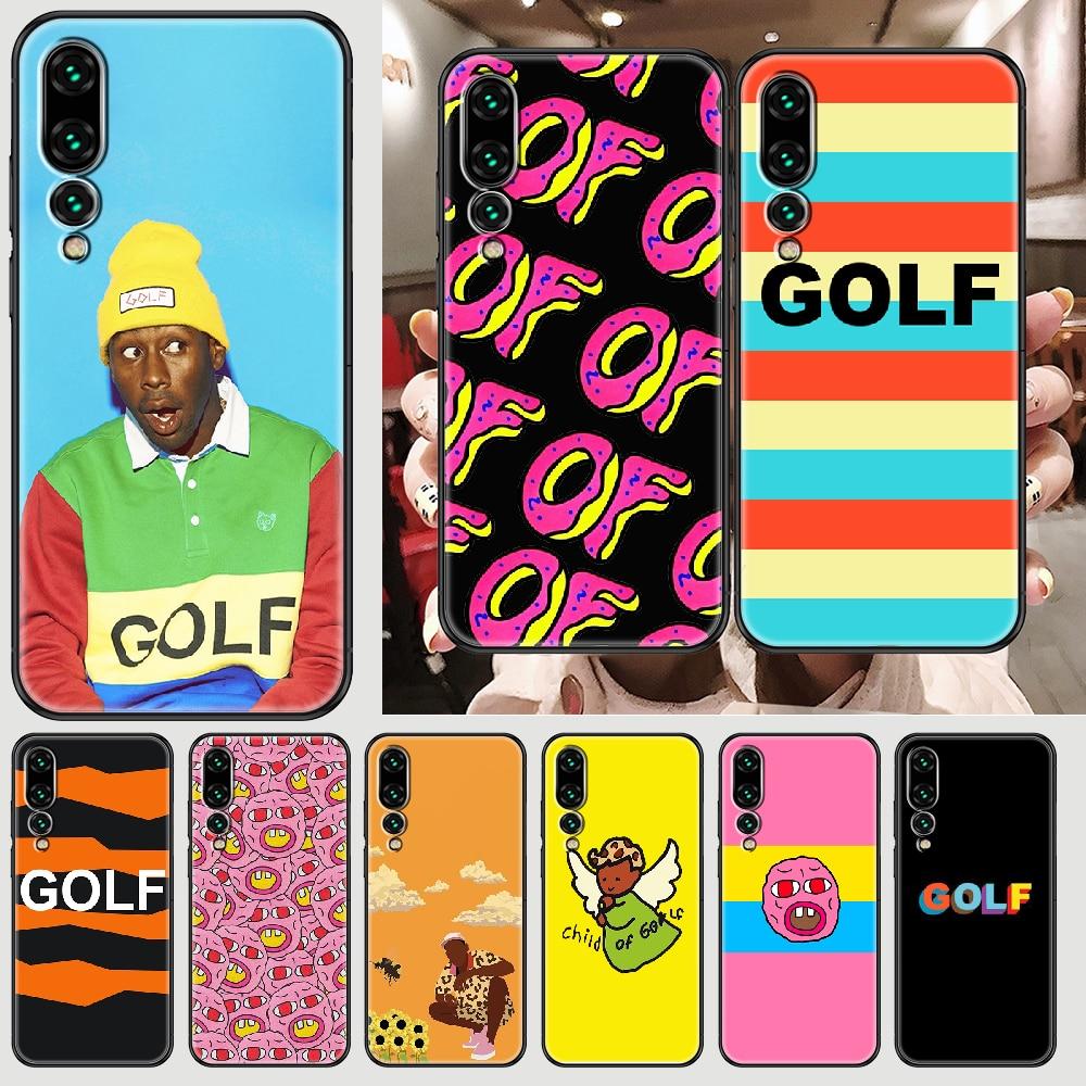 Coque de téléphone portable Golf Wang killer the Creator, étui noir en tpu pour Huawei P Mate P10 P20 P30 P40 10 20 Smart Z Pro Lite 2019