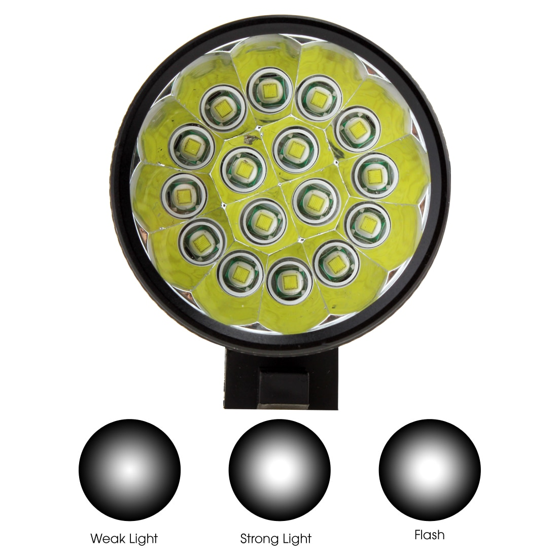 SecurityIng Bicycle Headlights  XM-L T6 LED Bicycle Lamp Bike Light Headlight Cycling Torch with 8.4V 6400mAh Battery Set enlarge