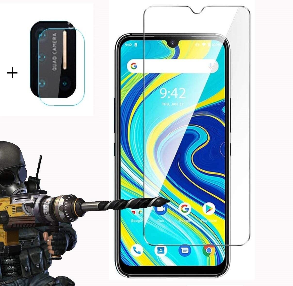 Protective Glass for Umidigi Power 3 Soft Tempered Glass Camera Lens Screen Protector For Umidigi F2