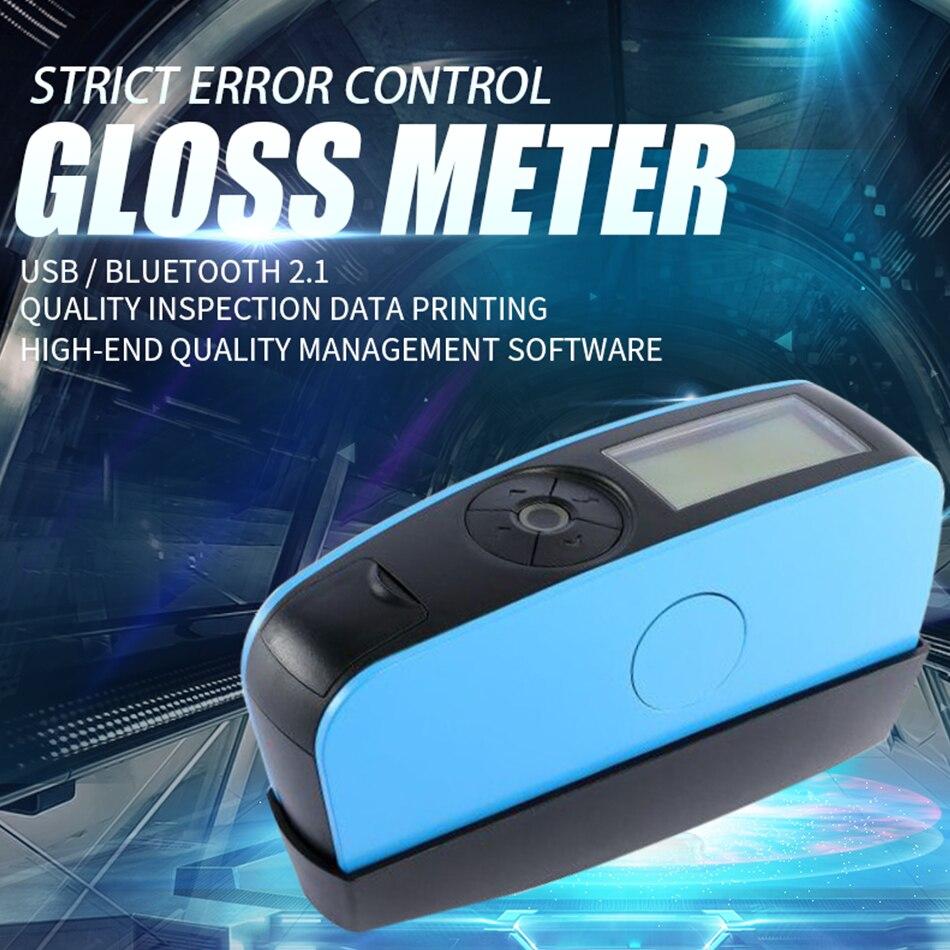 عرض ساخن YG60S 60 درجة لمعان اقتصادي متر دهانات الحبر السيراميك الرخام تستر قياس التنظيف السطحي Glossmeter فاحص