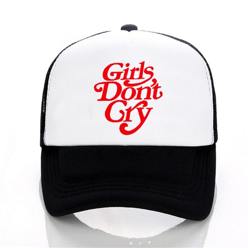 Фото - Бейсбольная кепка с принтом «Don't Cry» для девочек и мужчин, летняя уличная Кепка От Солнца, крутая сетчатая Кепка унисекс в стиле хип-хоп, snapback ... кепка billabong rotor snapback black tan