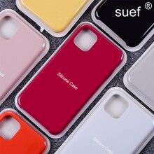 Official Silicone Phone Case For iPhone 12 Pro Max 12 Mini 11 Pro Max Xs Max Xr 7 8 Plus Original Li