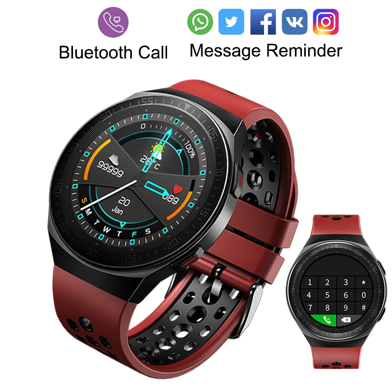 MT3 Smart Watch Men Women Music Play 8G Memory Bluetooth Call Heart Rate Fitness Health Tracker Spor
