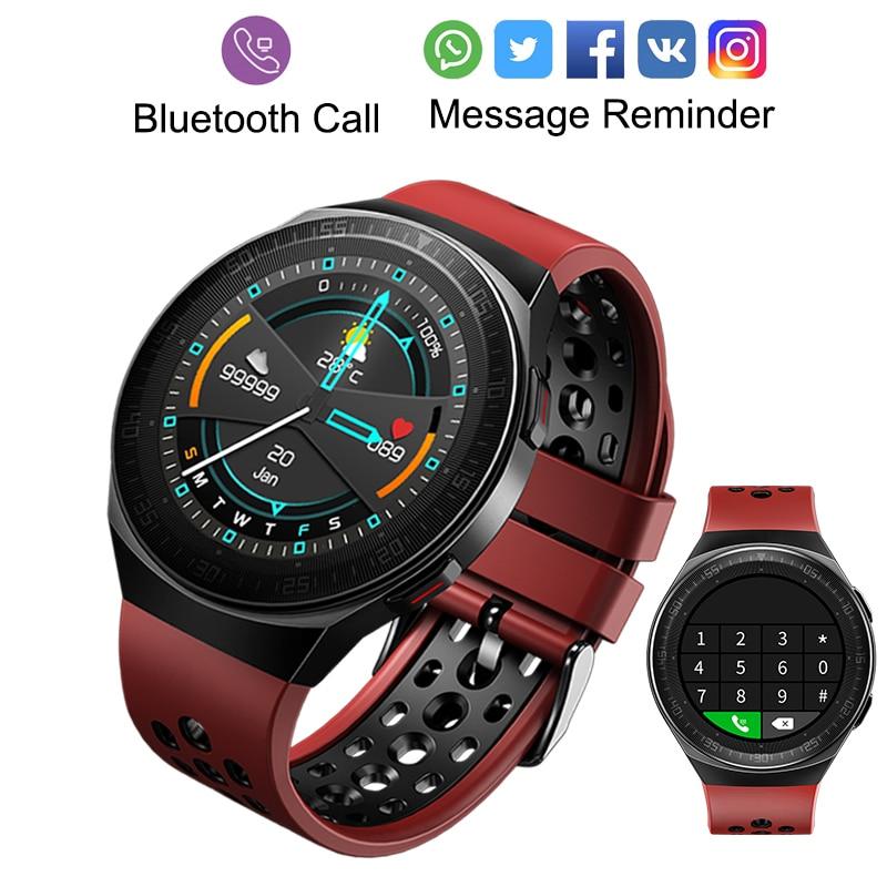 MT3 ساعة ذكية الرجال النساء الموسيقى اللعب 8G ذاكرة بلوتوث دعوة معدل ضربات القلب اللياقة البدنية الصحة المقتفي الرياضة مقاوم للماء Smartwatch