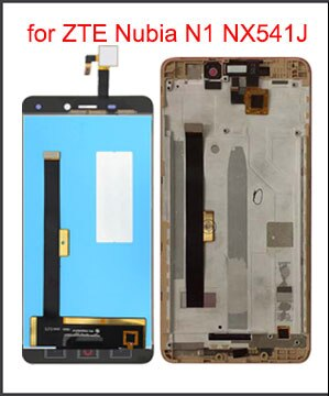 "Pantalla LCD Original de 5,5 ""para ZTE Nubia N1 NX541J pantalla LCD pantalla táctil digitalizador reemplazo Panel de vidrio montaje con marco"