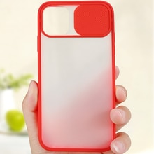 Case with Slide Camera Protector Set for iPhone 12 Pro Max Anti-Fingerprint Cover Personal Mobile Ph