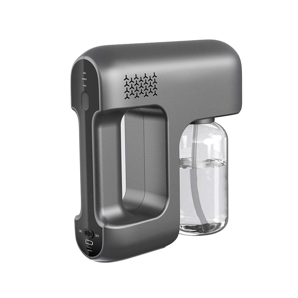 Nano Mist Sprayer Santitizer Machine Hand-held Atomizer Spray Gun Cordless Electric ULV Fogger For Office Garden Sprayer