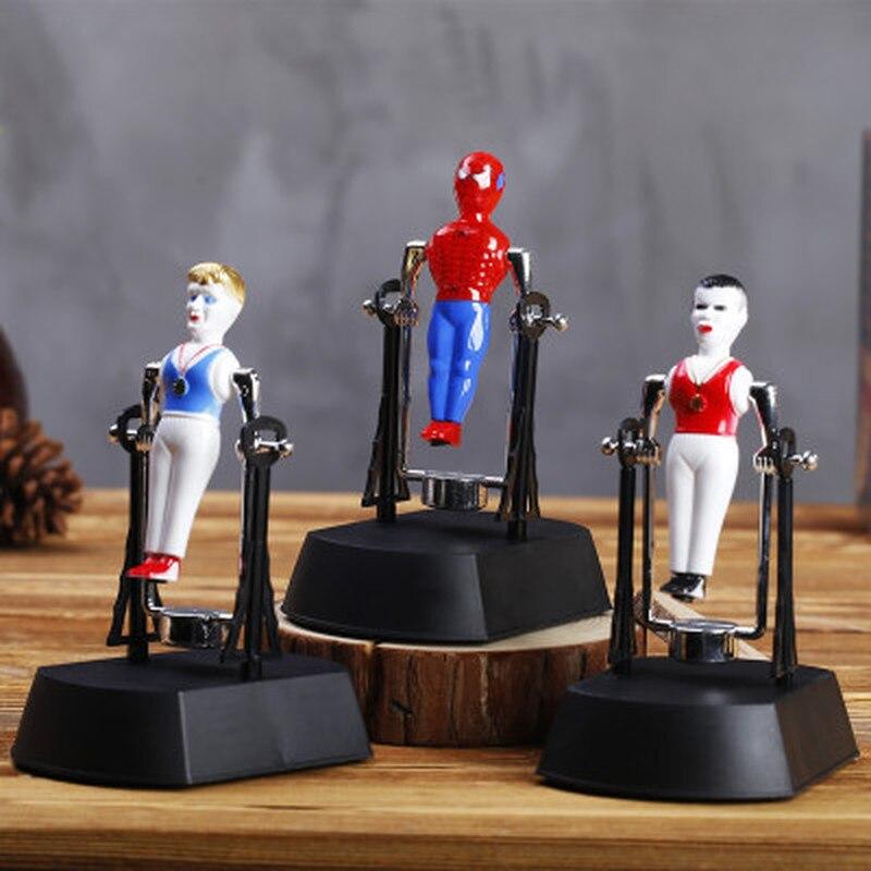 Креативный Человек-паук Jianren злодей Магнитный Перманентный инструмент для украшения поверхности стола электрическая гимнастика Swingman