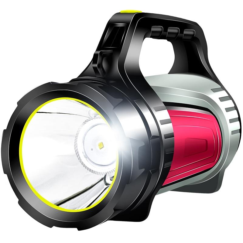 Portable Camping Flashlight Outdoor Military Tactical Waterproof Self Defense Flashlight Linterna Led Lighting Torches DB60SD enlarge