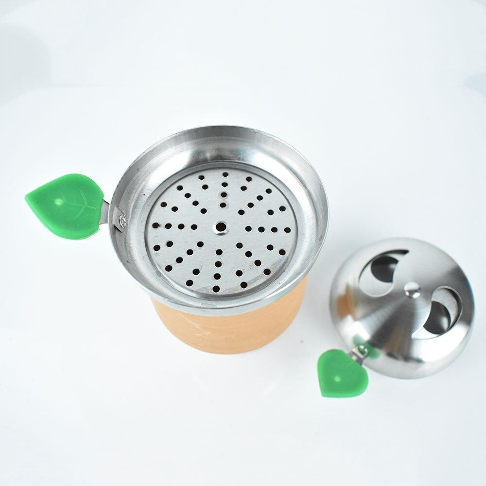 Hookah Charcoal Holder Provost Heat Management System Stainless Steel Shisha Bowl for Hookah Bowls S
