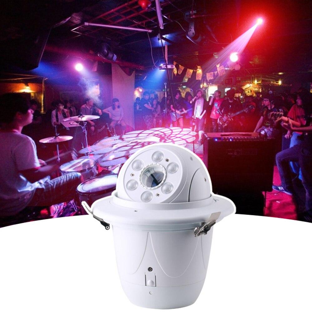 6x10w RGBW 4 في 1 LED شعاع ضوء المرحلة ، التحكم في الصوت ، حفلة نشطة ، DJ ديسكو المعدات ، جهاز العرض