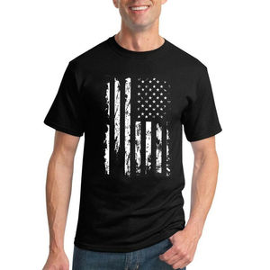 United States Flag Distressed USA American Pride Men T-Shirt US 4th Of July Tee