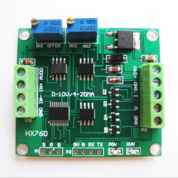 Amplificador de celda de carga 4-20ma/transmisor de celda de carga 0-10 v/transmisor de peso lineal