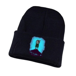 Anime Gegege No Kitaro Knitted Hat Cosplay Hat Unisex Print Adult Casual Cotton Hat Teenagers Winter Knitted Cap