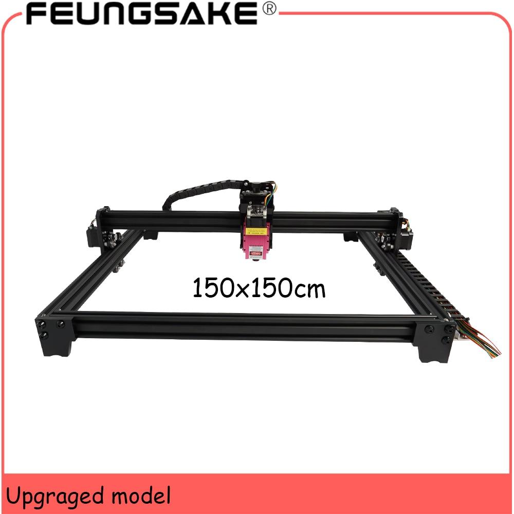 Laser Engraving Machine 150x150cm 30w big area cnc 15w laser machine PMW TTL control,20w laser cutter 5.5w wood  Laser engraver