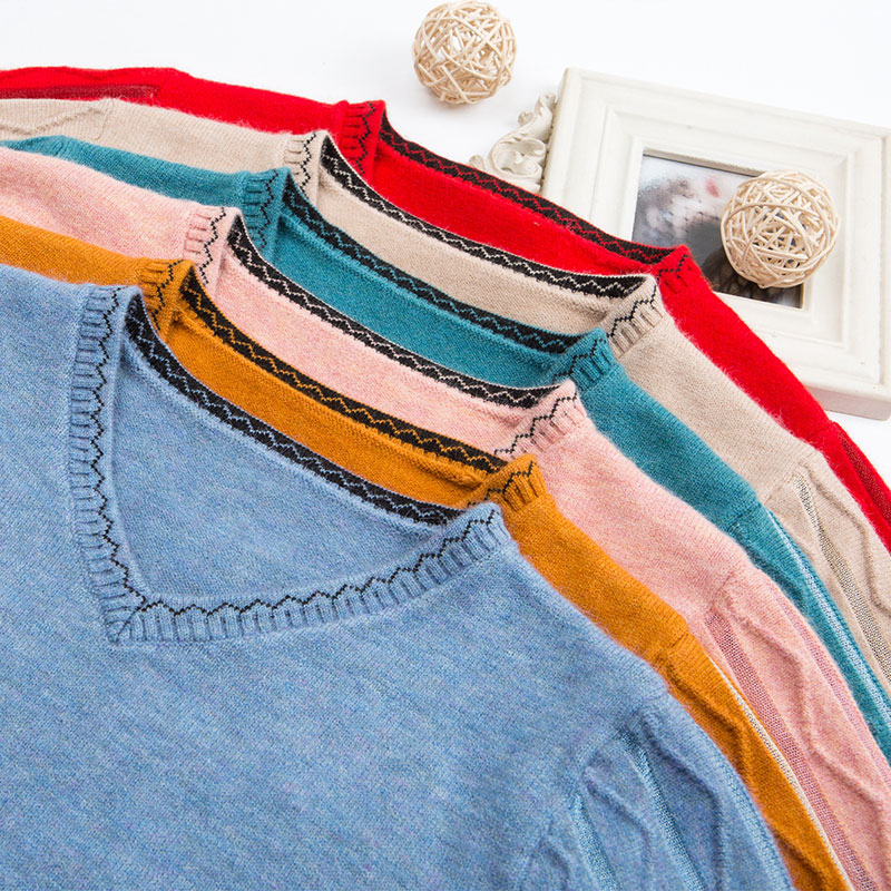 christmas 2020 winter clothes women tops long sleeve shirt red  aesthetic sweater plus size clothing office ladies elegant enlarge