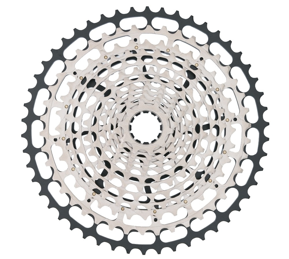 SROAD 12 Speed MTB Bicycle 10-50T Silver Cassette STEEL CNC Made XD Driver Body 12S Bike Freeewheel Super Light CNC Made 390g