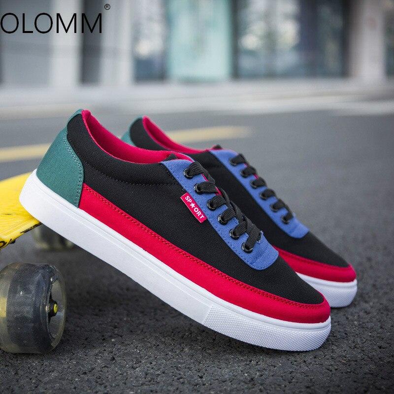 Nueva tendencia Zapatos para Hombre Zapatos Casual salvaje Zapatos De lona Zapatos...