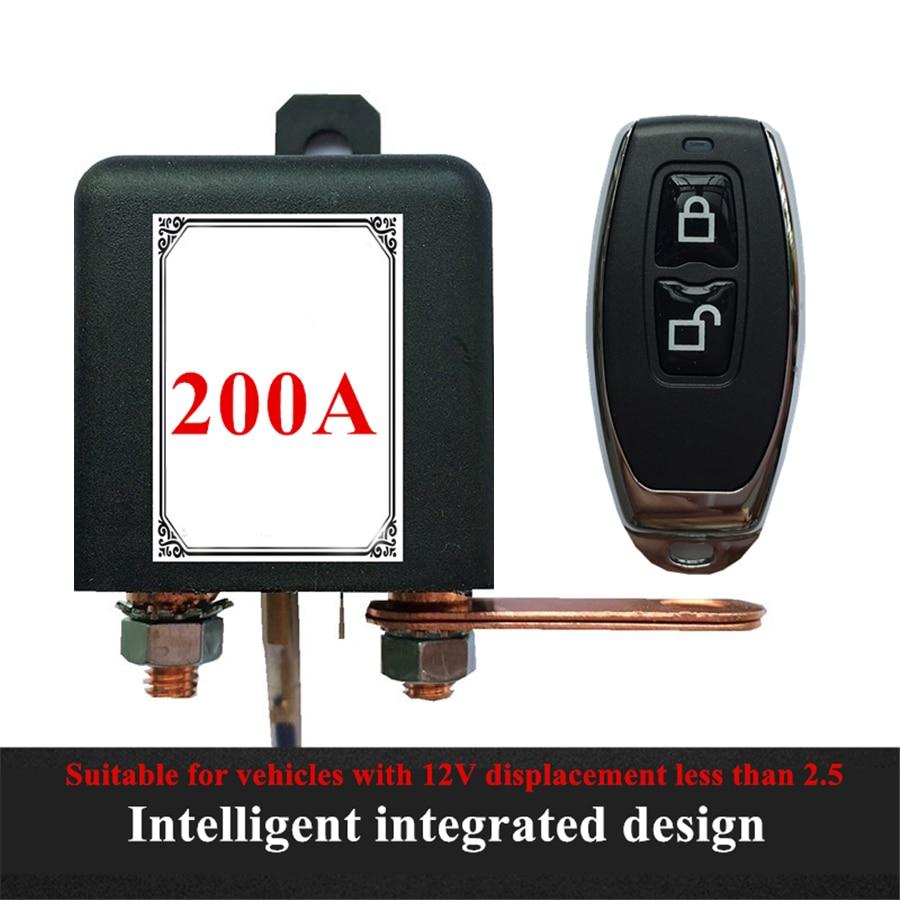 Interruptor Universal de 12V para batería de coche, Control remoto inalámbrico integrado,...