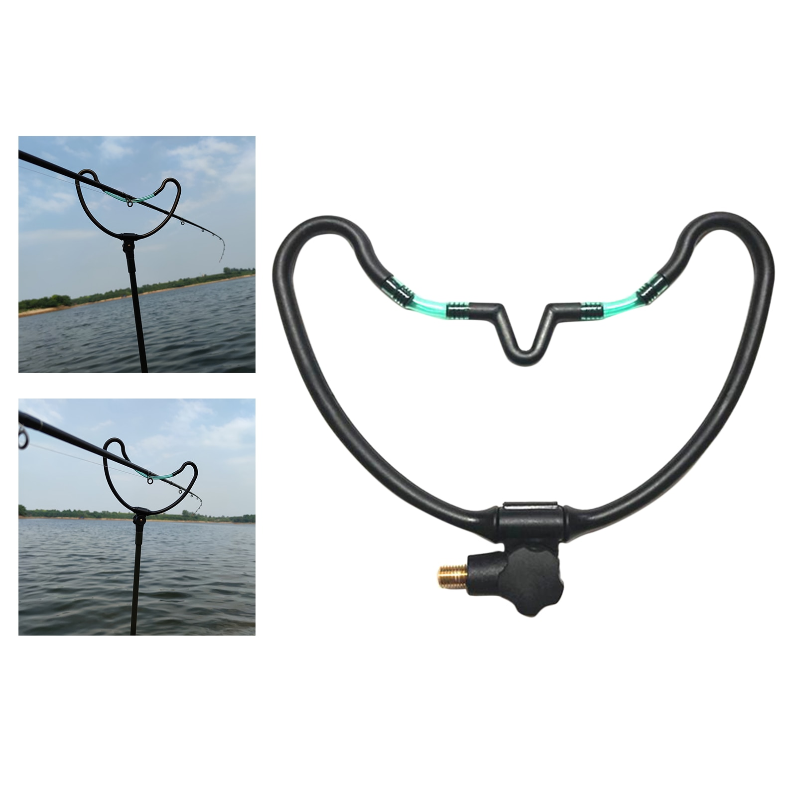 Fishing Rod Holder Pole Bracket Fishing Tool Stand Support Holder Bracket Outdoor Sports Rest Carp Fish Tackle