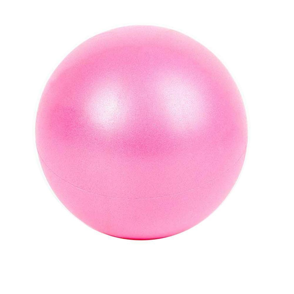 25CM Bola de Yoga reducir grasa Fitness Yoga balón para Core interior pelota para ejercicios de Yoga bolas de entrenamiento de gimnasia de Pilates equilibrio T3W8