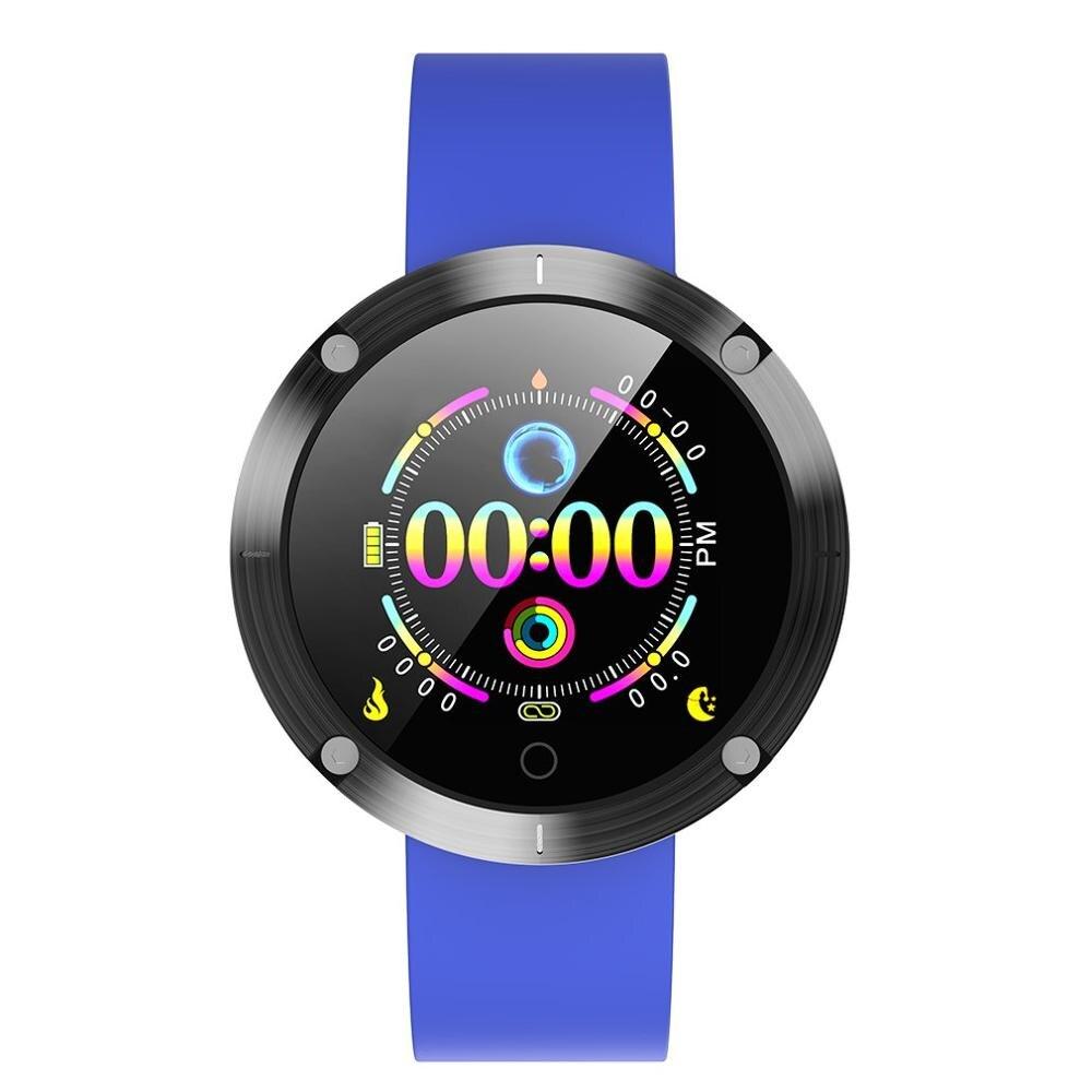 Pulsera inteligente OLOEY W5, reloj a prueba de agua con control del ritmo cardíaco, modo multideporte, cámara remota