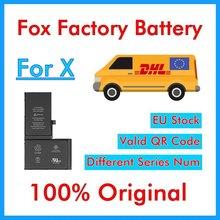 BMT оригинальный 10 шт. Foxc Заводская батарея для iP X 2716 мАч запасные части для ремонта