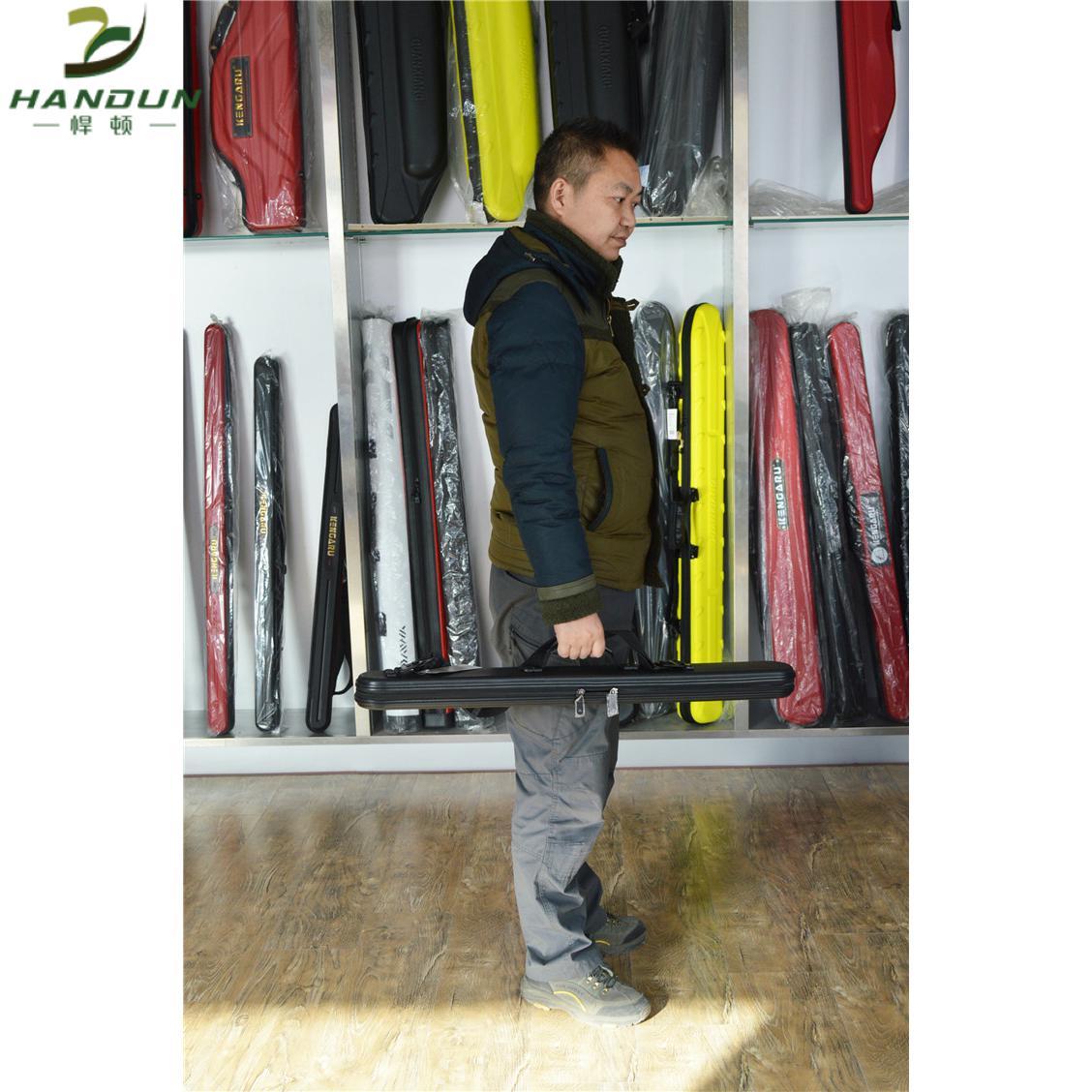 Kengru Hard Case Pole Bag Rod Bag Lure Fishing Rod Bag Extra Long Fishing Bag enlarge