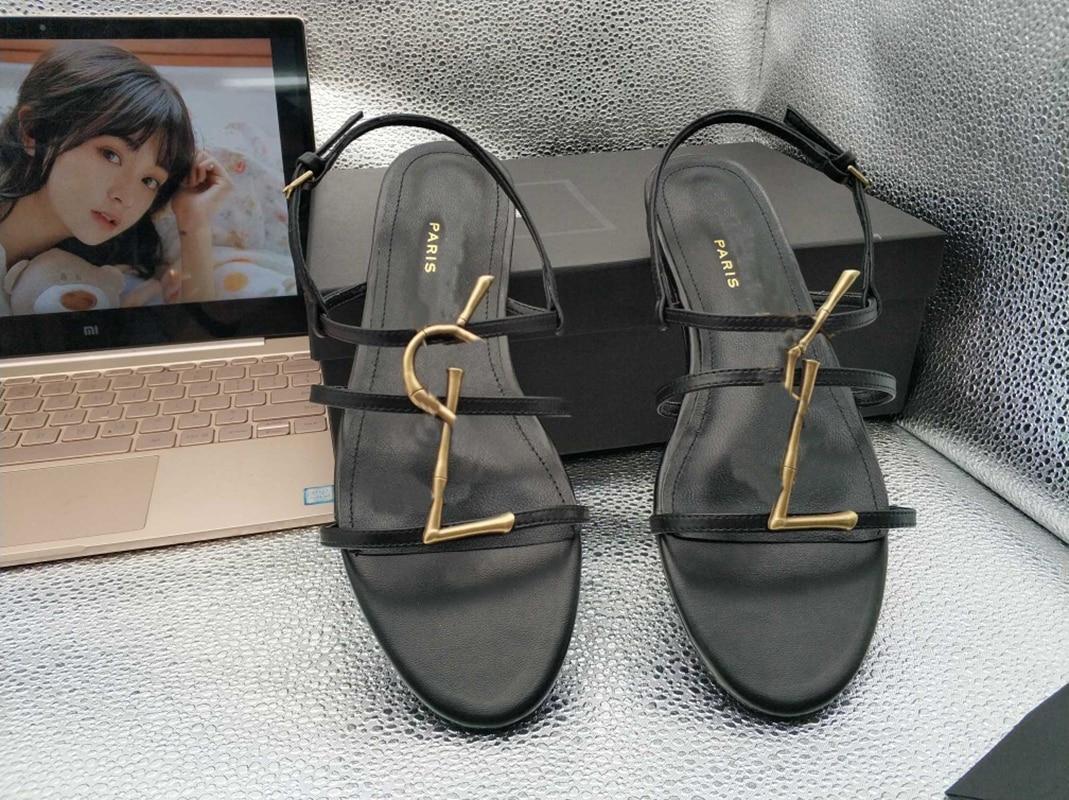 2020 Top High Quality Designers Women Sandals Summer Genuine Leather Sheepskin Insole Triple S Casual Luxury Ladies Platform enlarge