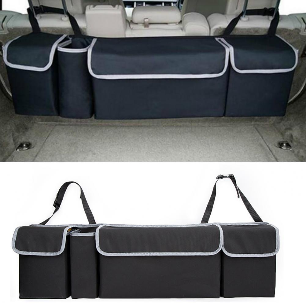 Подвесной органайзер для багажника, экономия места на автомобильном заднем сиденье, несколько карманов, сумка для хранения различных предм...