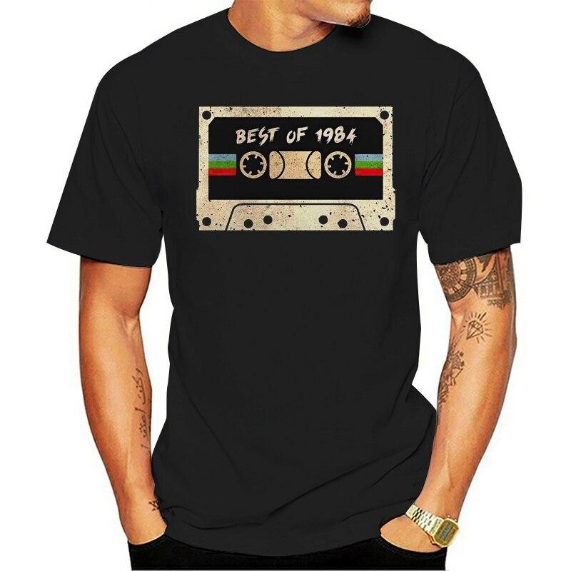2021 mode décontracté 100% coton T-shirt Cassette meilleur de 1977 Vintage hommes S 6Xl 010597
