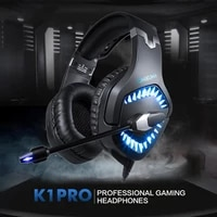 k1 pro gaming headset rgb three color backlight head mounted active noise reduction gaming headset dedicated
