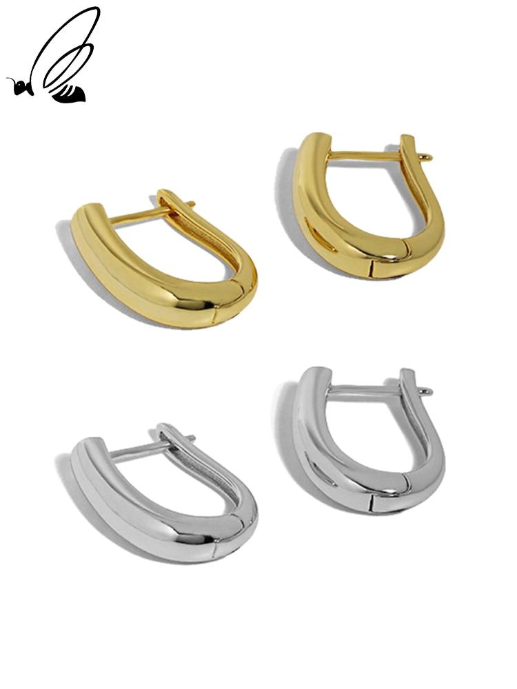 s'steel-pendientes-de-aro-de-plata-de-ley-925-para-mujer-aretes-de-diseno-minimalista-en-forma-de-u-con-textura-lisa-joyeria-2021