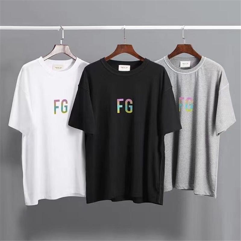2020ss FG camiseta 3M camiseta de hip-hop camisetas 11 harajuku fg de alta calidad hombres streetwear camiseta hombres mujeres top 3m tee