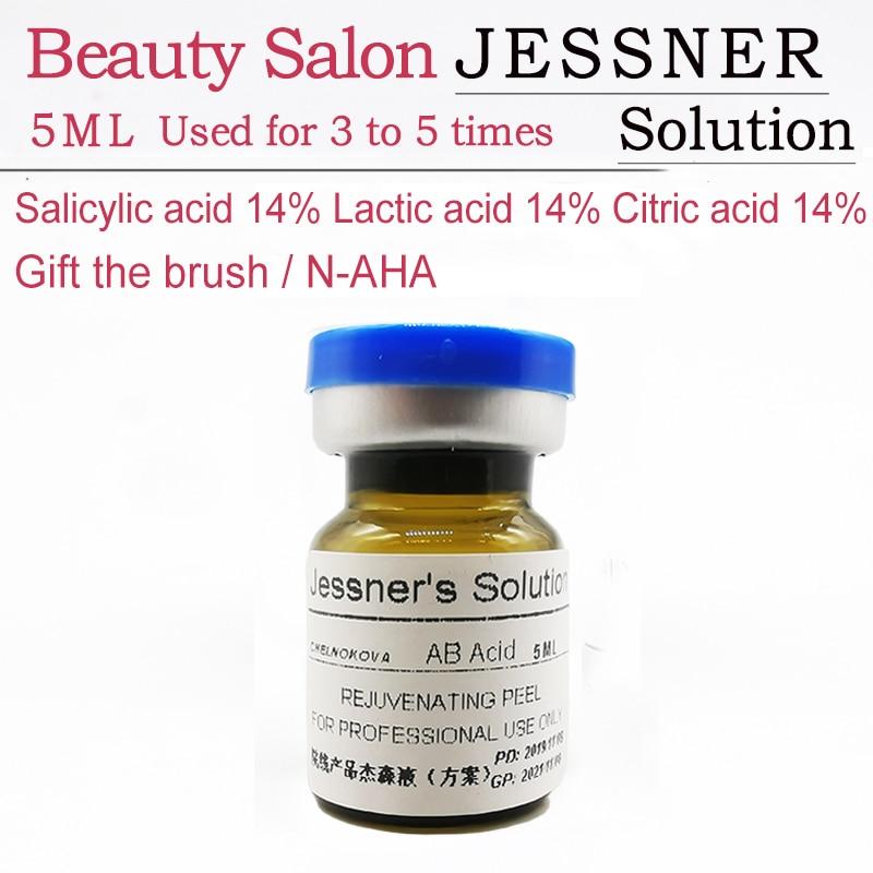 jessner solution Salicylic acid 14% Lactic acid 14% Citric acid 14% Chemical peeling aha bha pha anti-aging liner filler