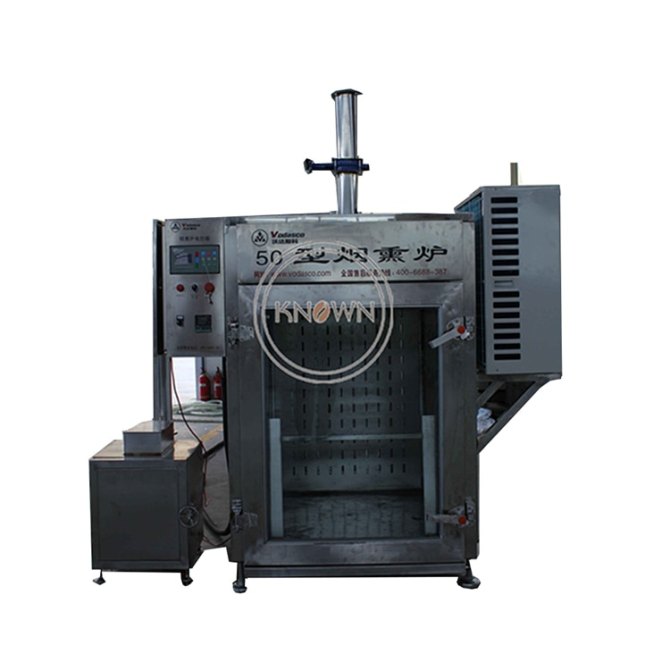 Ahumador para casa de 30-250kg, horno para ahumar carne, tocino, horno para ahumar salchichas, máquina de salchichas para casa
