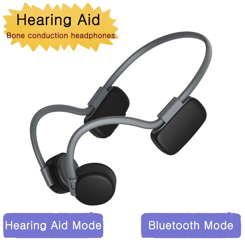 السمع سماعة بلوتوث 5.0 اللاسلكية Sweatproof مقاوم للماء سماعات توصيل العظام في الهواء الطلق سماعة رياضية حر اليدين