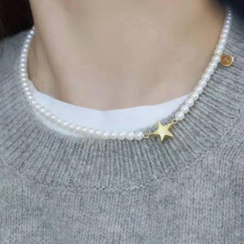 Collares Para Muje Pearl Necklace for Women Lotes Mayor кулоны и подвески fabricação de jóias kit подвеска на шею ожерелье
