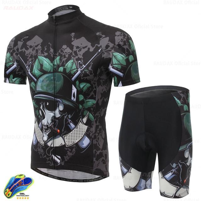 Spexcel2021-Conjunto de sudadera para bicicleta para hombre, ropa transpirable para ciclismo