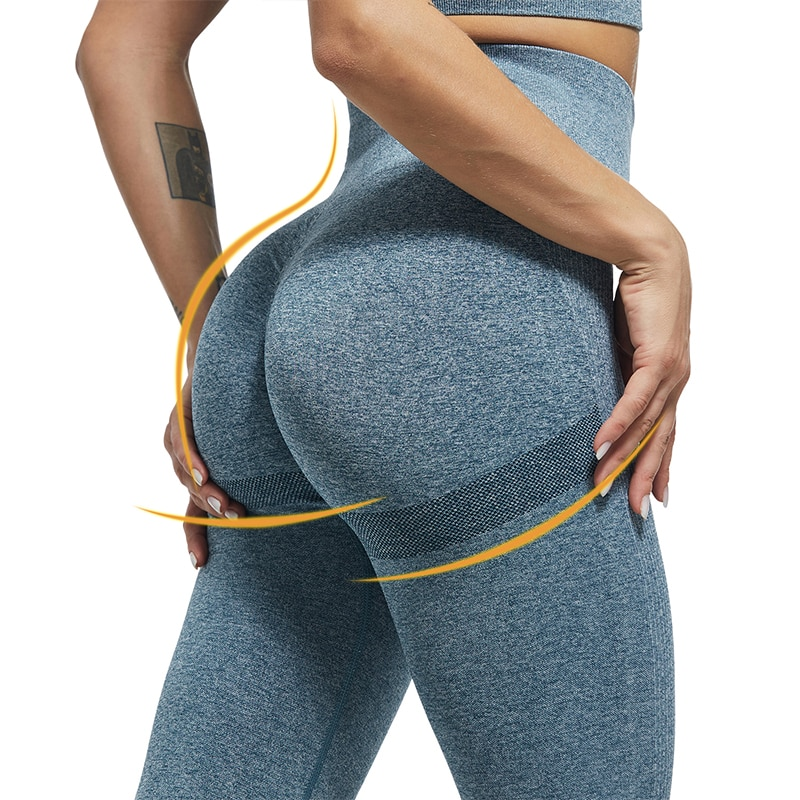 Sexy Leggings Women High Waist Fitness Bubble Butt Legging Push Up GYM Sport Leggins Women Workout Jeggings