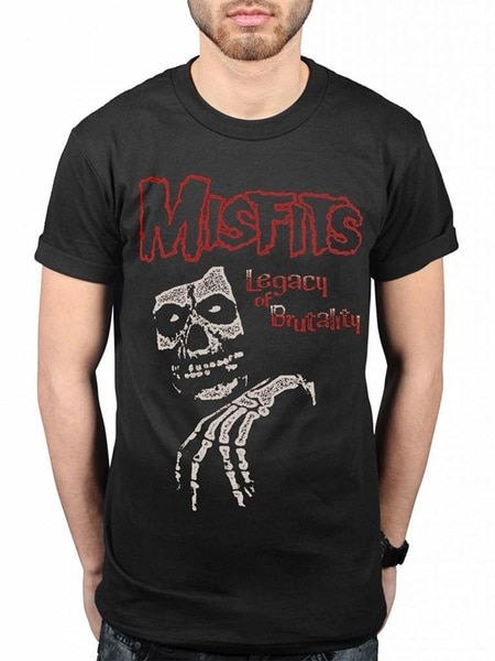 Misfits Legacy Of футболка Brutality, ужасы, скалы, знаменитые монстры