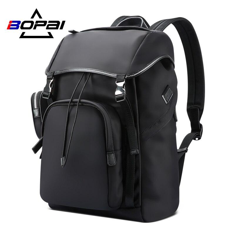 BOPAI 2020 новый мужской рюкзак большой емкости для путешествий, деловой рюкзак для компьютера, функциональная школьная сумка для мужчин, Спорт...