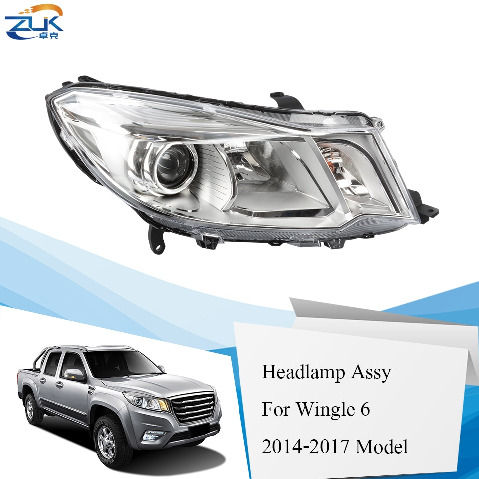 ZUK Headlight Head Light Headlamp Head Lamp For Great Wall Wingle 6 STEED 2014 2015 2016 2017 Headlamp Head Lamp