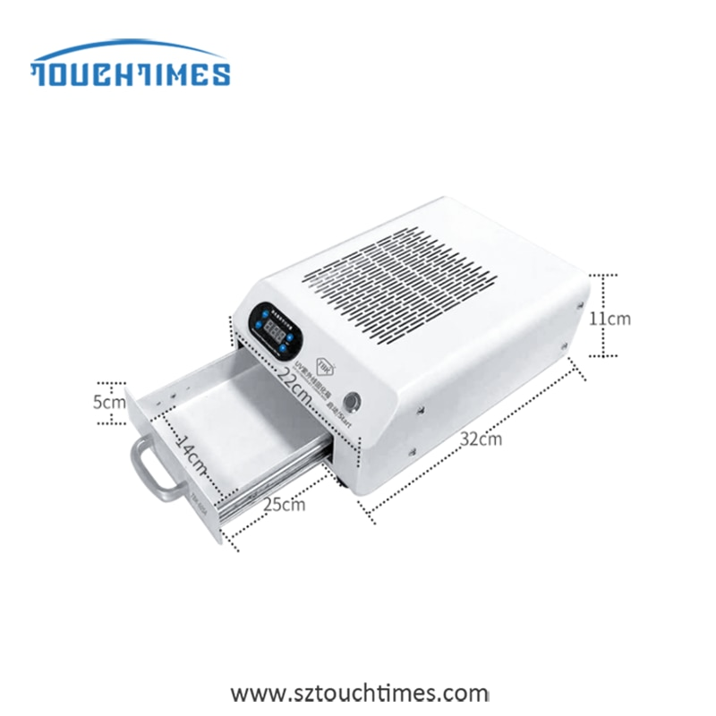 TBK-605A High Power Uv Curing Lamp Curved Surface Wrinkle-Free Flexible Screen Full Screen Uv Glue Led Light Box enlarge