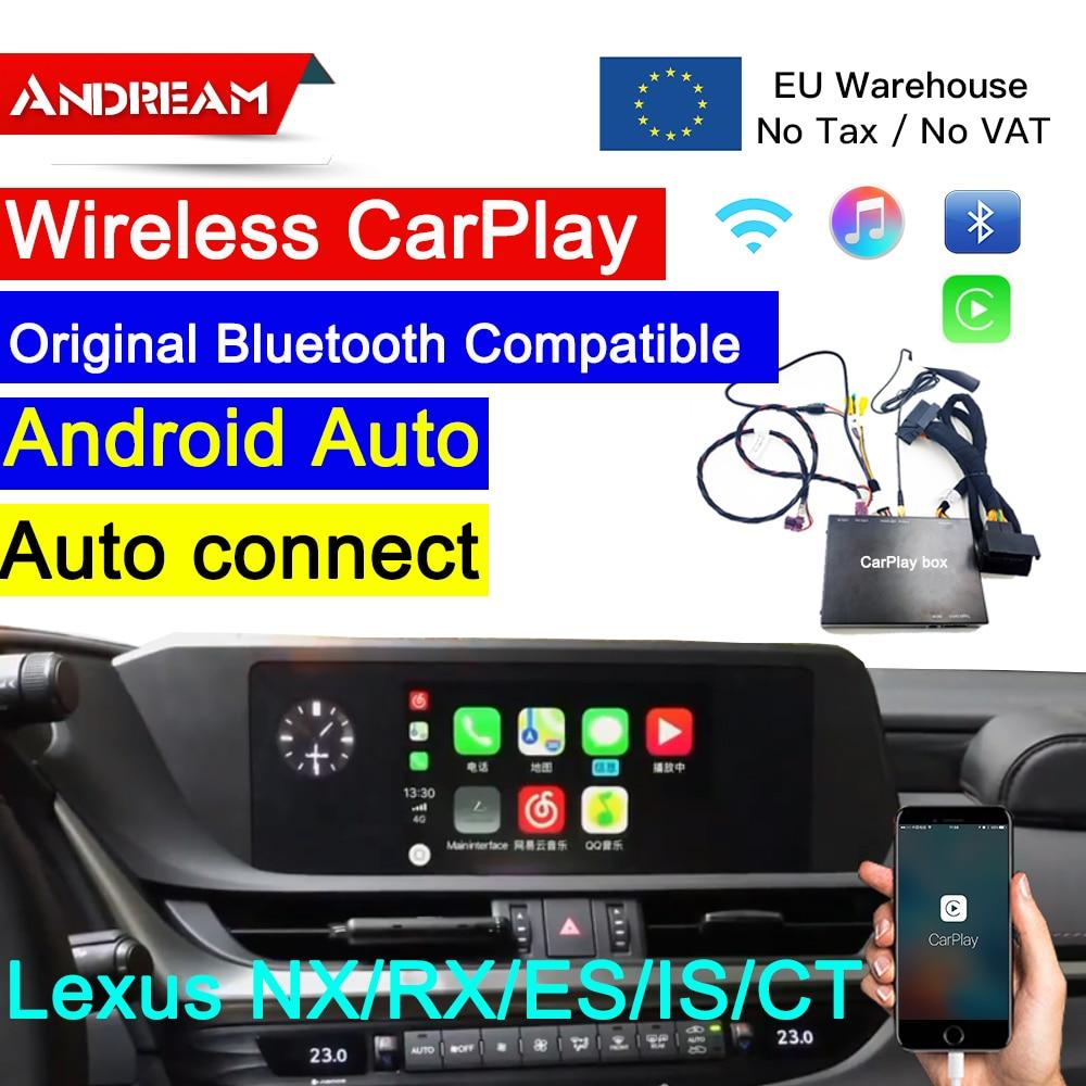 Беспроводной Carplay для Lexus навигация GS/LS/ES/IS/UX/LX/RC Apple автомобильная система обновления carpaly модуль oem Экран